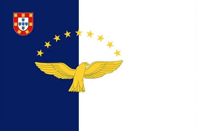 The Flag of The Azores