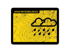AVISO METEOROLÓGICO - WEATHER WARNING