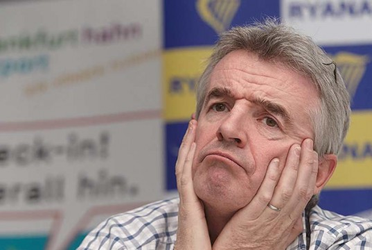 Ryanairs plan to fly to Terceira has been denied - michael o'leary
