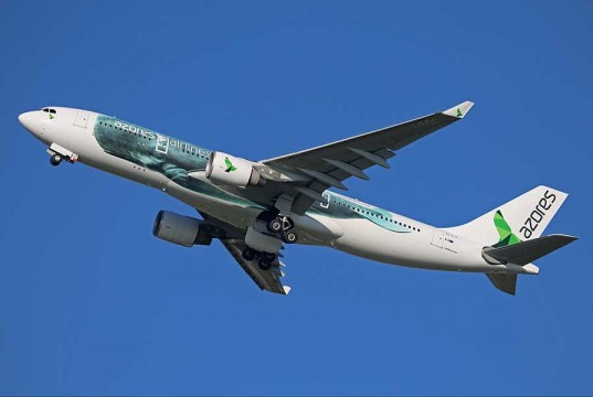 Azores Airlines - Out with the old in with the New