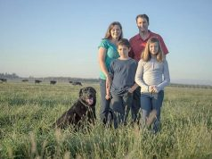 The Silveira family in California