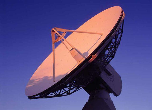 ESA ground station on its way to Santa Maria