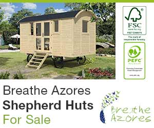 Shepherd Huts for Sale by Breathe Azores
